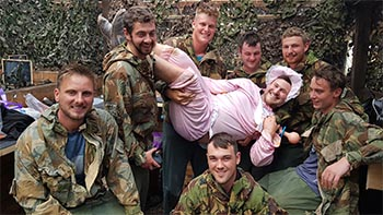 Stag Do Paintball