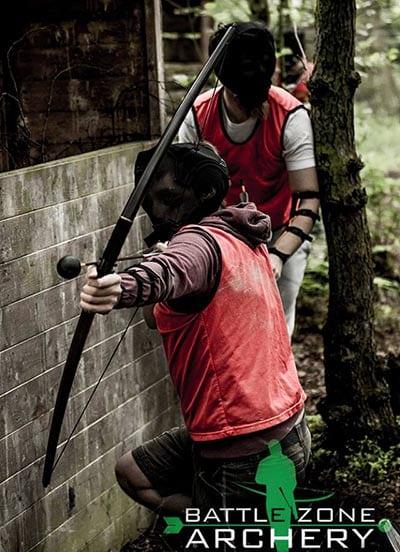 Battlezone Archery. Make a day of it.