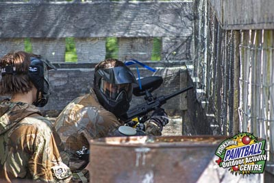 Confidence in the Yorkshire Paintball Centre