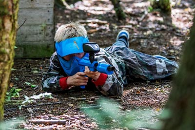 Kids Paintball Games