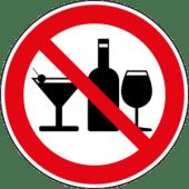 no alcohol suchej únor