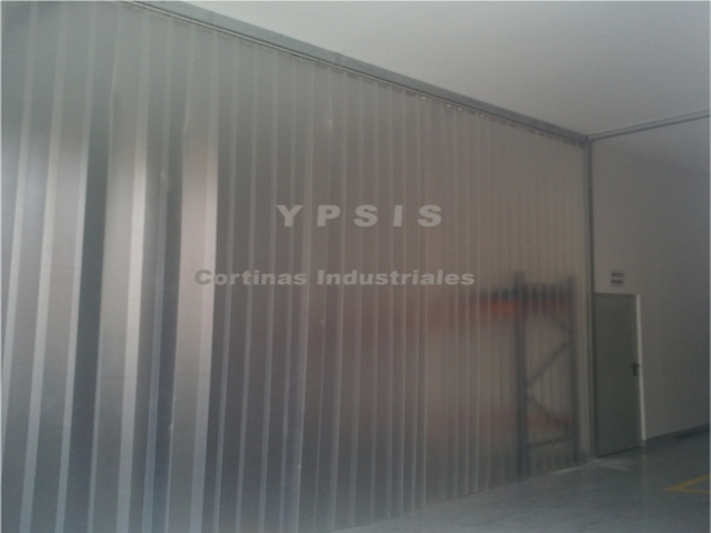Cortina de lamas de pvc TRANSLCIDA  Ypsis