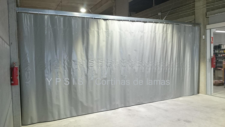 Cortina Corredera de lona de PVC  Ypsis