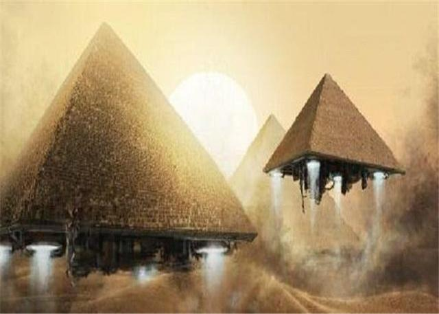 What is buried under the pyramid? Scientist:We may not be the pharaoh we buried