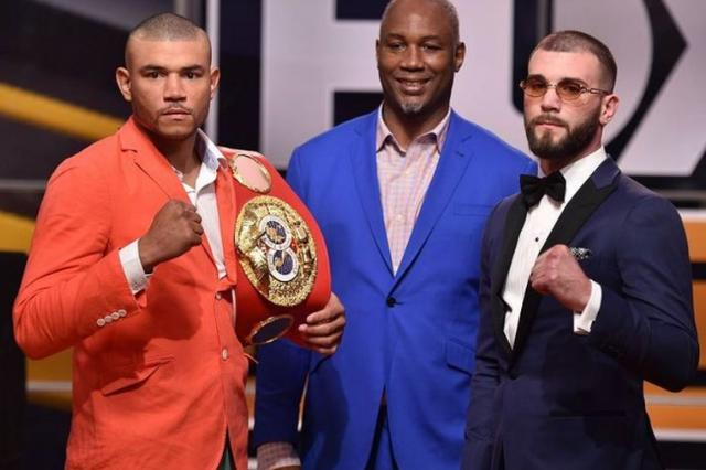 American boxing champion Prandall ended his opponent, winning 18 battles to become the new king of IBF super middleweight