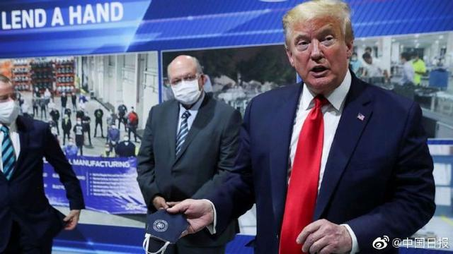 Trump:Full support for the people to wear masks