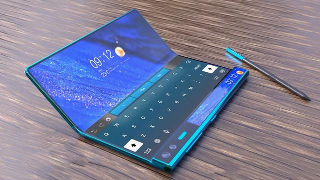 Digital masters abroad draw Huawei Mate X2 concept map