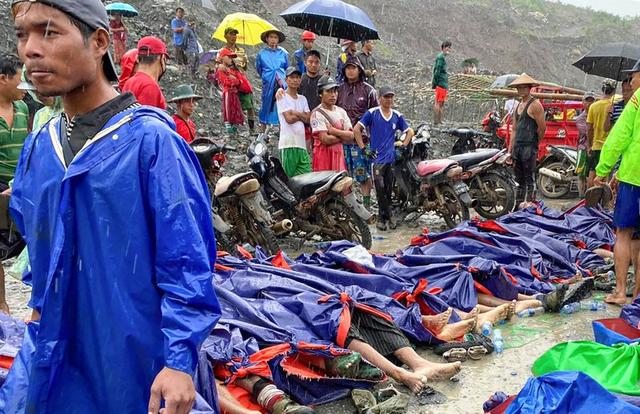 On July 2nd, a large-scale mine disaster occurred in the mountainous area of Myanmar.