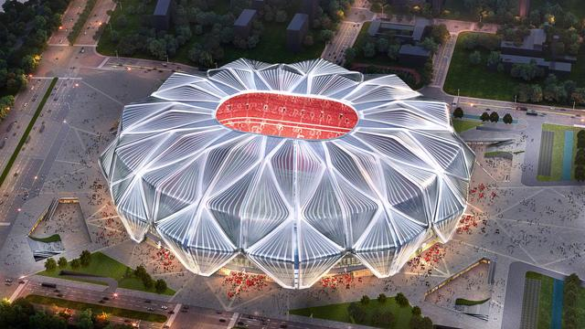 """Official confirmation! The architectural design plan of Evergrande Football Stadium was unanimously approved by Guangzhou Urban Planning Commission! You give a score to the""""Lotus Crown"""" stadium"""