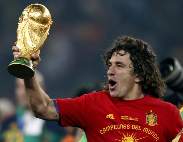Puyol talks about the header of the South Africa World Cup against Germany:even if the goal is not scored, we will still win