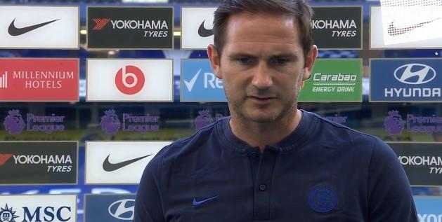 Lampard:The battle with Manchester United will continue until the end of the season, Kepa made a good save