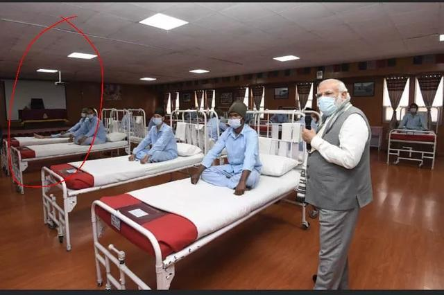 """Modi personally visited the wounded soldiers, and after seeing the photos, Indian netizens bluntly said:The prime minister is""""the film emperor"""""""
