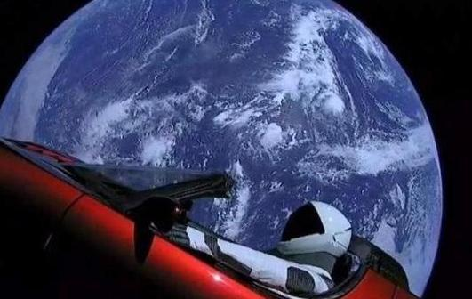 Musk once sent a sports car into space, the photography of the car made a sensation in the world, and now where is the car?