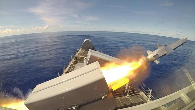 """Known as""""changing the rules of the game,"""" 9 months after the launch of the new anti-ship missile in the United States"""
