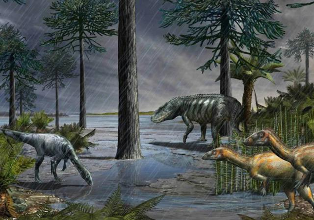 230 million years ago, the torrential rain fell for 2 million years, the cause may appear again