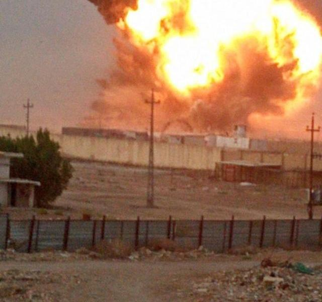 A military base in Iraq exploded one after another, giving reasons:improper storage of ammunition under high temperature