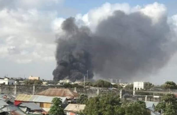 Update/The military base in the capital of Somalia exploded! At least 8 dead and 15 injured