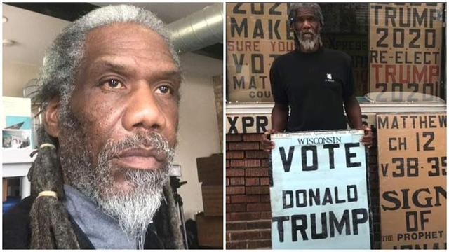 """The American""""Rebel Army"""" made a painful killer on the blacks who supported Trump:5 domestic blacks were killed"""