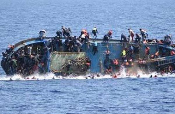 A refugee boat sank in the Mediterranean Sea killed 45 people, including 5 children, only 37 people were saved
