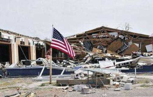 There was a bad news in the United States, moving at a speed of 16 miles per hour, and 500,000 residents were evacuated urgently