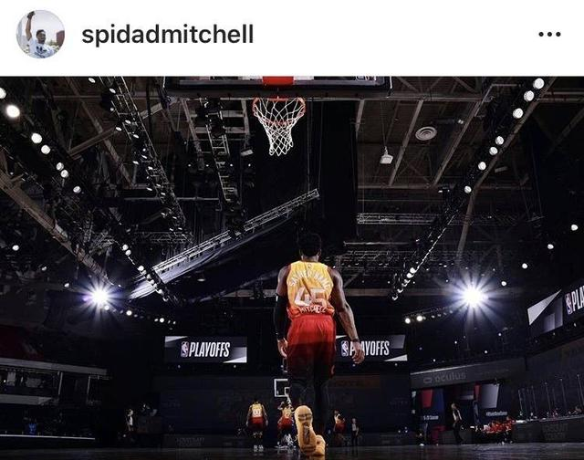 Mitchell shared photos of the game:Even if defeated, you can't admit defeat. Losing is a valuable lesson.