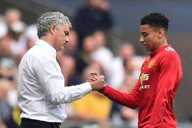ESPN:Mourinho wants Tottenham to sign Lingard from Manchester United