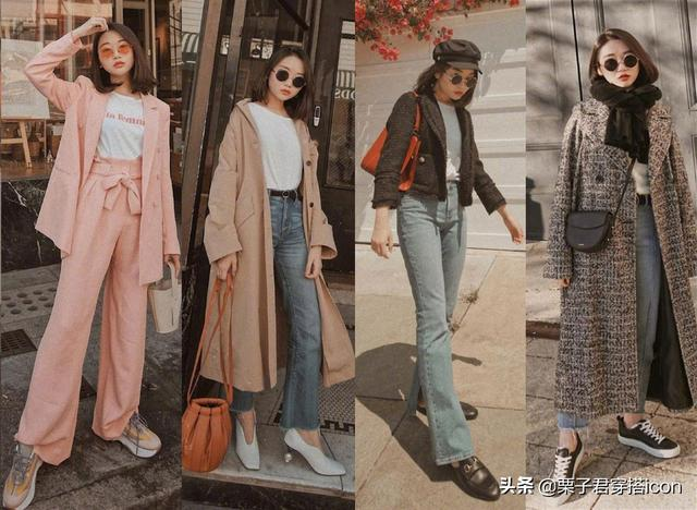"""Four strokes for bloggers who are less than 160 in height to teach you to wear the""""big woman"""" aura in autumn and winter"""