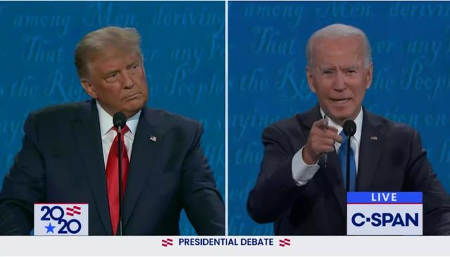 "The last debate became""garbage time"", Trump:If Biden wins, it will be a sad day for the United States"