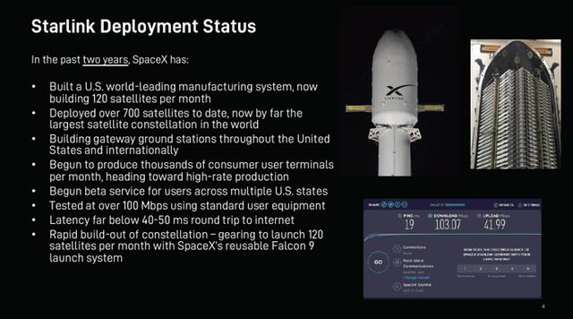 SpaceX has been approved to provide Starlink satellite Internet access services in Canada