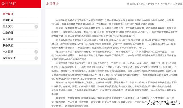 The loan business seriously violated prudent operation rules, etc. Dongguan Rural Commercial Bank fined 2.35 million