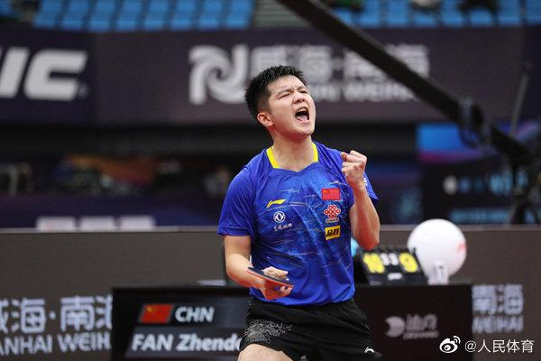 An extraordinary table tennis World Cup