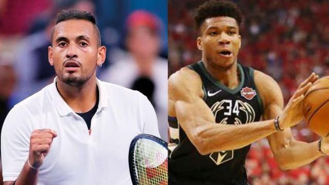 Antetokounmpo responded to tennis player Kyrgios:Why do you always have to do something