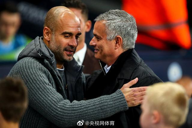 Mourinho has won two consecutive victories against Guardiola for the first time in his coaching career