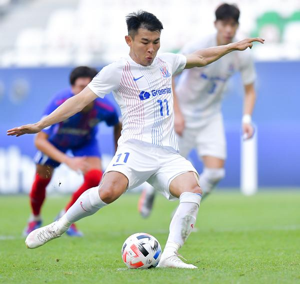 """Not optimistic about Shenhua's""""Tian Ji Horse Racing""""? Superman Yu Han didn't say much, so he directly retorted with a goal"""