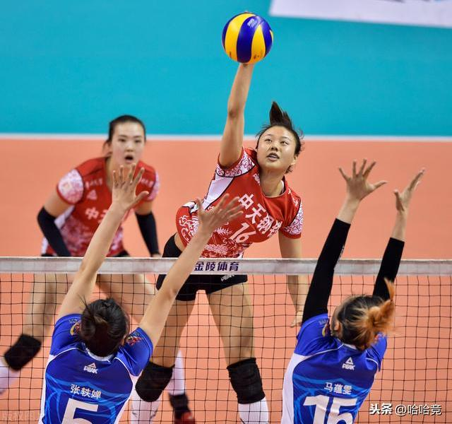 Zhang Changning scored 34 points, Jiangsu women's volleyball team defeated Tianjin and won the first round of the finals