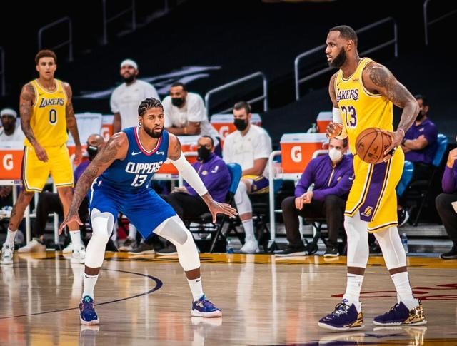 George 33, 26 points, Clippers beat the Lakers, James scored 22 points in time limit