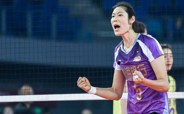 Zhu Ting has won the Women's Volleyball League's Most Valuable Player again, with 15 personal MVP honors