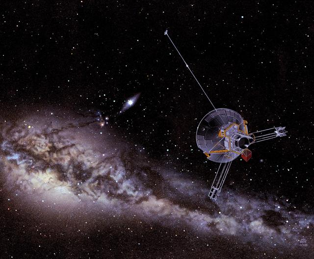 5 spacecraft are leaving the solar system, the farthest is 22.5 billion kilometers, what does NASA want to do?