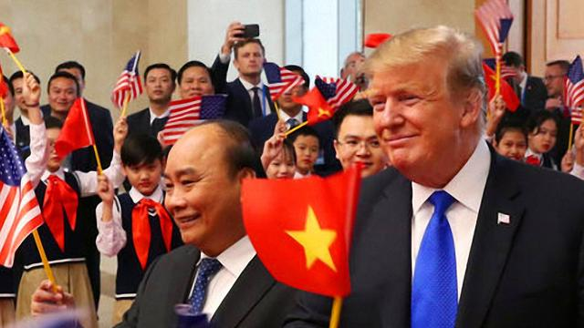 As soon as Trump took action, Vietnam understood it and immediately imposed taxes on two Chinese goods