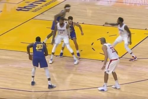 Clippers VS Warriors Review:Relentless Targeting! Integrate all forces to defend Curry but not the ball