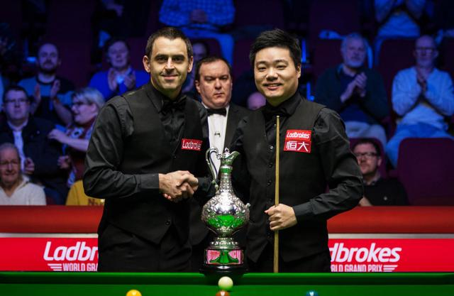 "Ding Junhui O'Sullivan meets again, from idol to friend,""Odin"" is the CP I stand"