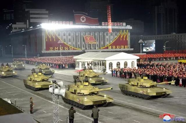 """North Korea suddenly held a military parade and climaxed one after another, and Kim Jong-un's""""ultimate big move"""" was unveiled"""