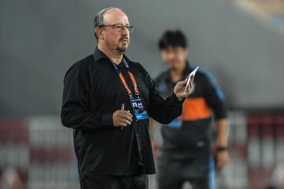 Negotiated with the Dalian people to terminate the contract, the famous coach Benitez bid farewell to the Chinese Super League for his family