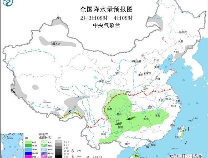 There is heavy fog in Sichuan, Hubei, Hunan and other places, local visibility is less than 200 meters