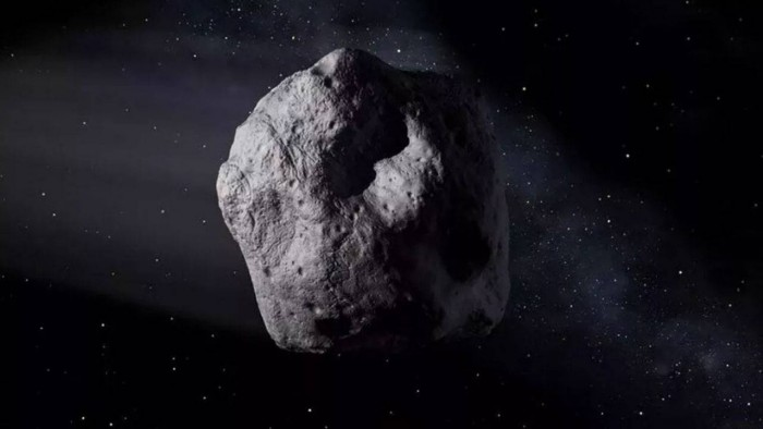 The huge Apophis asteroid will fly over the Earth next month, the closest distance is 16.8 million kilometers