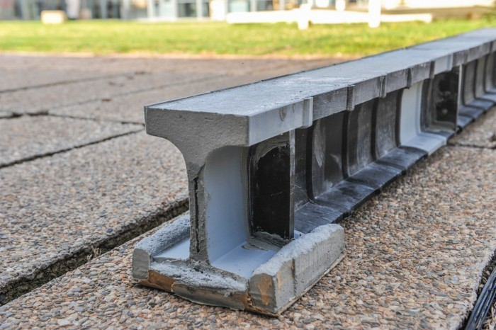Researchers have designed a 3D printed beam similar to Lego, which is expected to provide a lightweight alternative to concrete