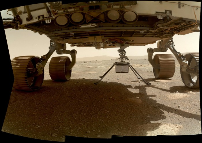 """Scientists are curious whether the unmanned helicopter """"Ingenuity"""" survived the night on Mars"""