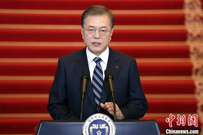 "South Korean President Moon Jae-in: ""Deeply worried"" about Japan's nuclear waste water discharge into the sea"