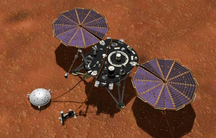 NASA deliberately dumped soil on the InSight lander to make it less susceptible to temperature changes