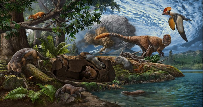 """Experts from the Chinese Academy of Sciences proved that animals independently evolved the characteristics of """"digging and burrowing"""" 120 million years ago"""